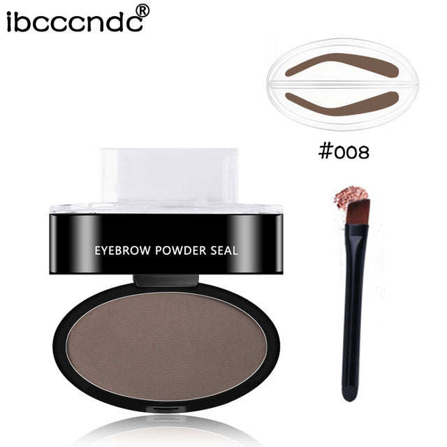Natural Shape Brow Stamp Powder Palette Easy Cool Stuffs