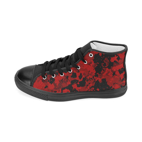 Camo Red High Top