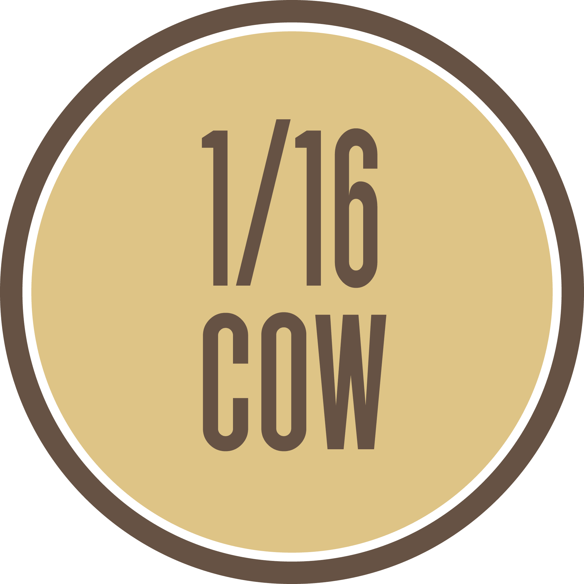 16th of a Grass-Fed Cow - $299 all costs covered including Free Shipping