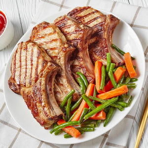 Heritage Pork Bone-In Chops