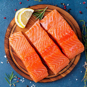 Wild Caught Alaska Sockeye Salmon