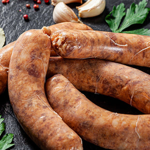 Grassfed Venison Sausage Links with Beef and Pork
