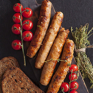 Wild Boar Sausage Links with Cranberries & Shiraz Wine