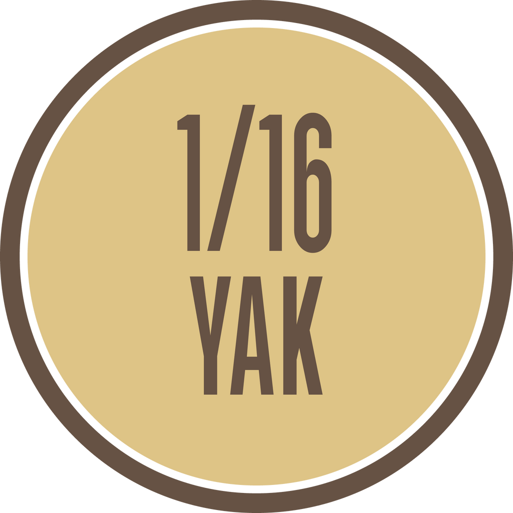 16th of Grass-Fed Yak