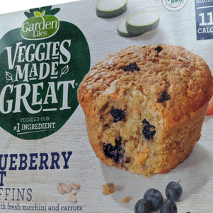 Gluten Free Blueberry Oat Muffins with Zucchini