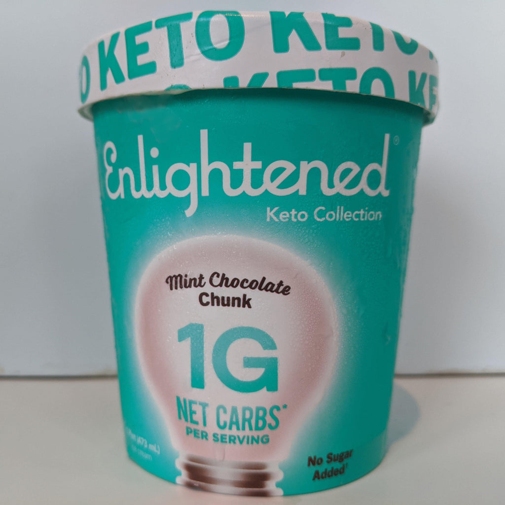 Keto Mint Chocolate Chip Icecream
