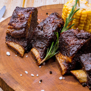 Grass-Fed Beef Short Ribs English Style