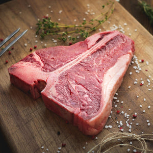 Grass-Fed Beef T-bone steak