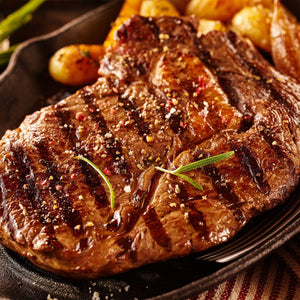 Grass-Fed Beef Extra Big Premium Steaks - $99 for Eight ~16 ounce steaks Free Shipping
