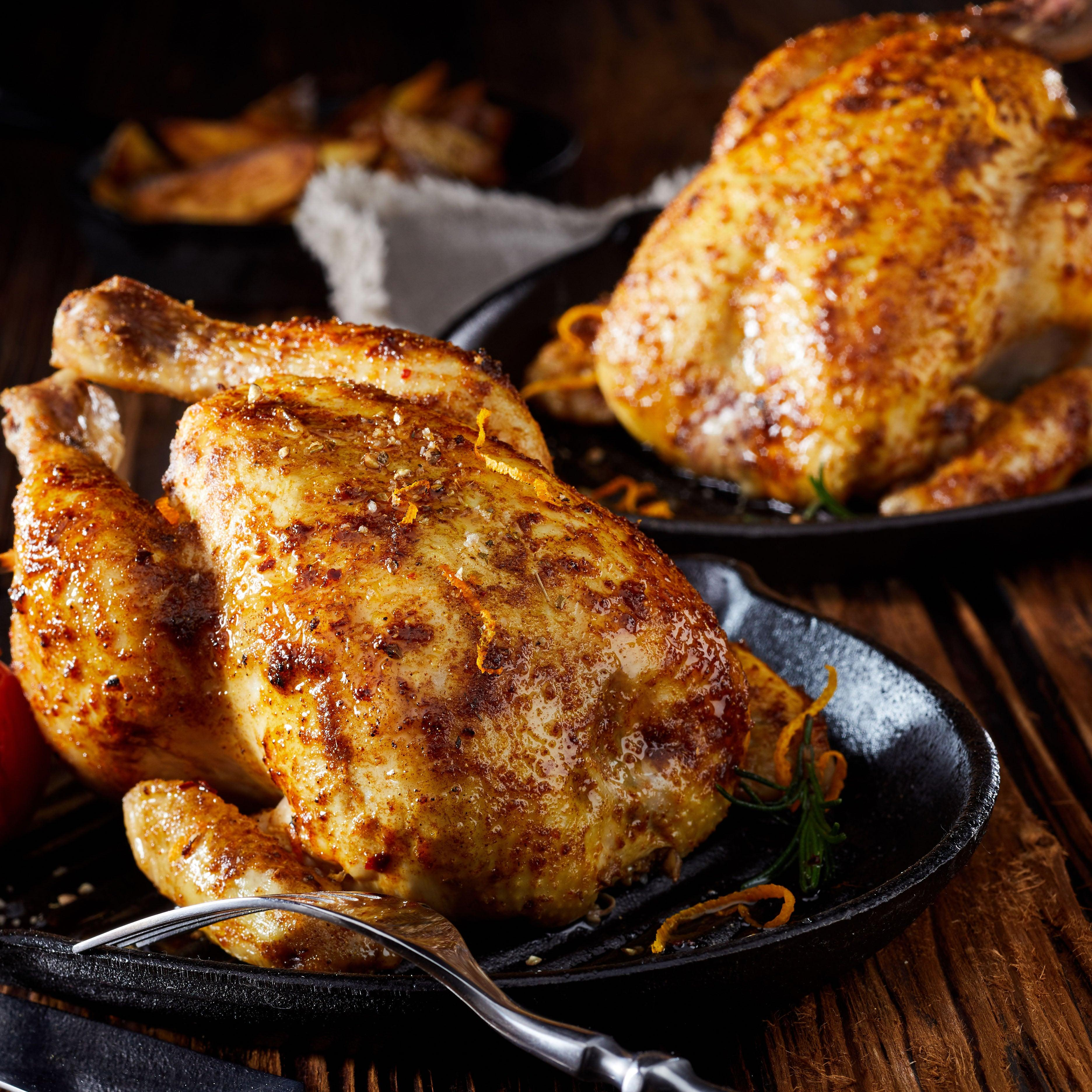 Mega Value Pack Pasture Raised Whole Chicken - 40+ pounds for $399 Free Shipping