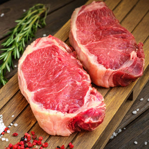 More than 10 pounds of Grass-Fed Rib Eye and/or New York - $199 FREE Shipping