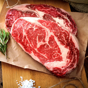 Grass-Fed Beef Rib Eye Steak