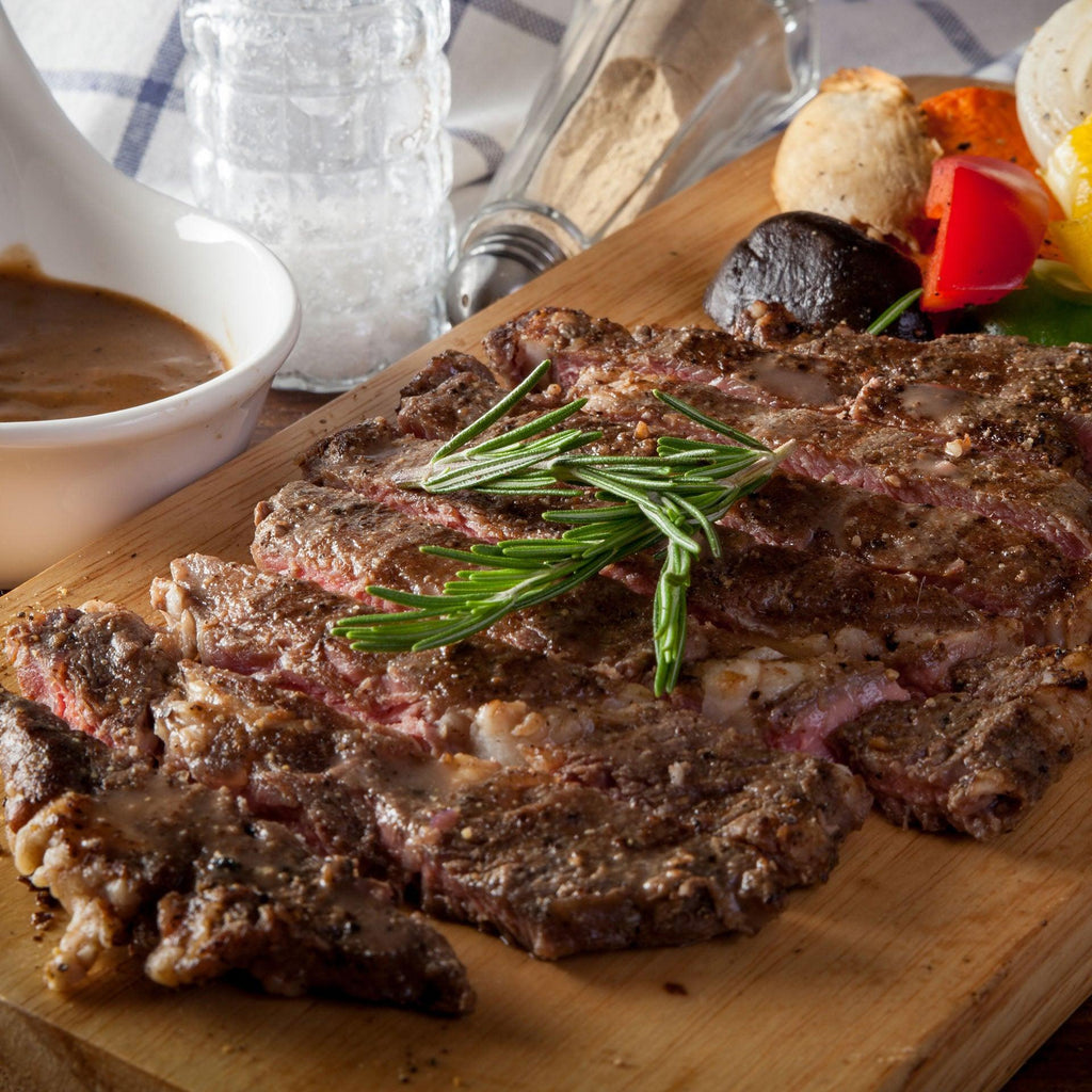 Grass-Fed Beef Rib Eye Steak (boneless)