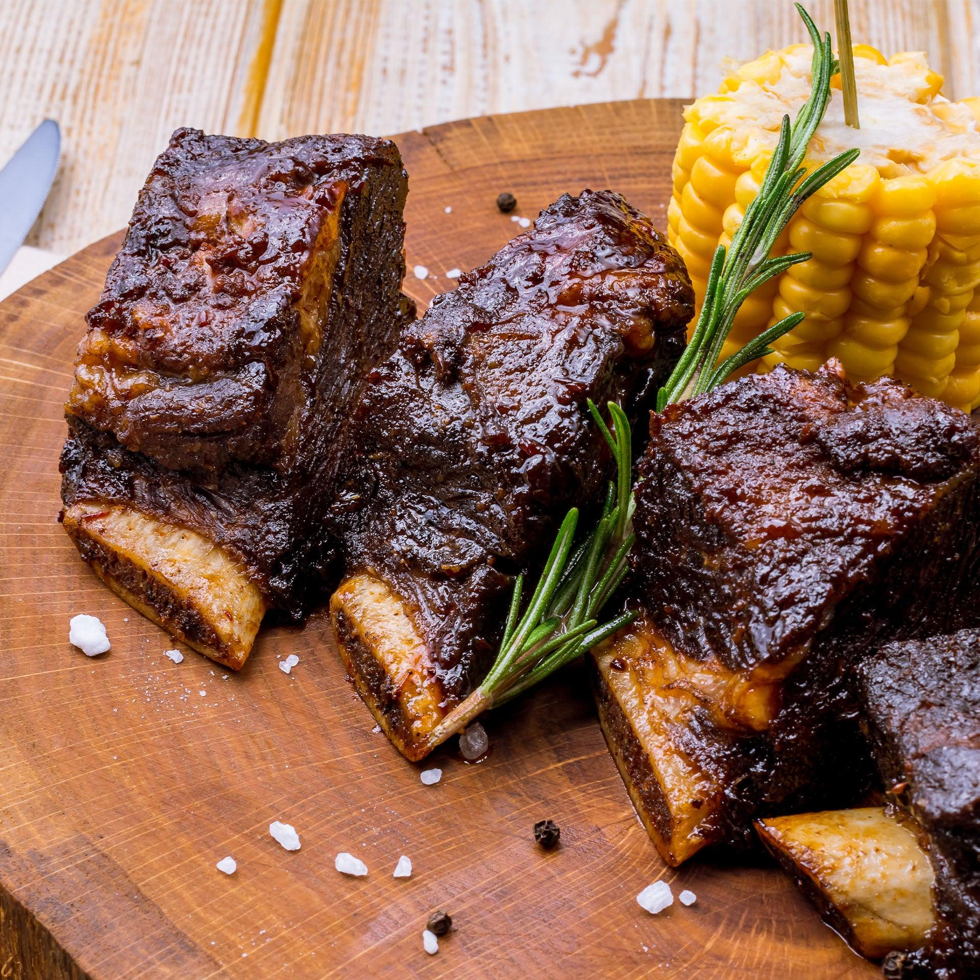 Grass-Fed Beef Short Ribs Pack - 7 lb for $69