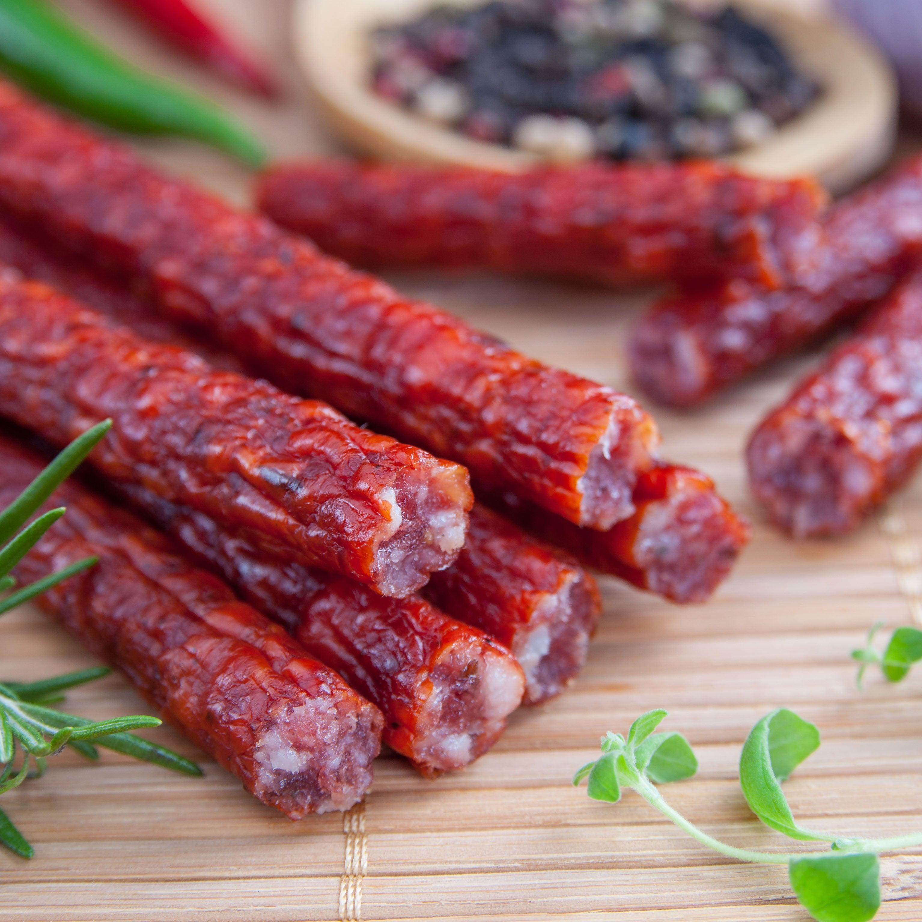 Pastured Pork Snack Sticks
