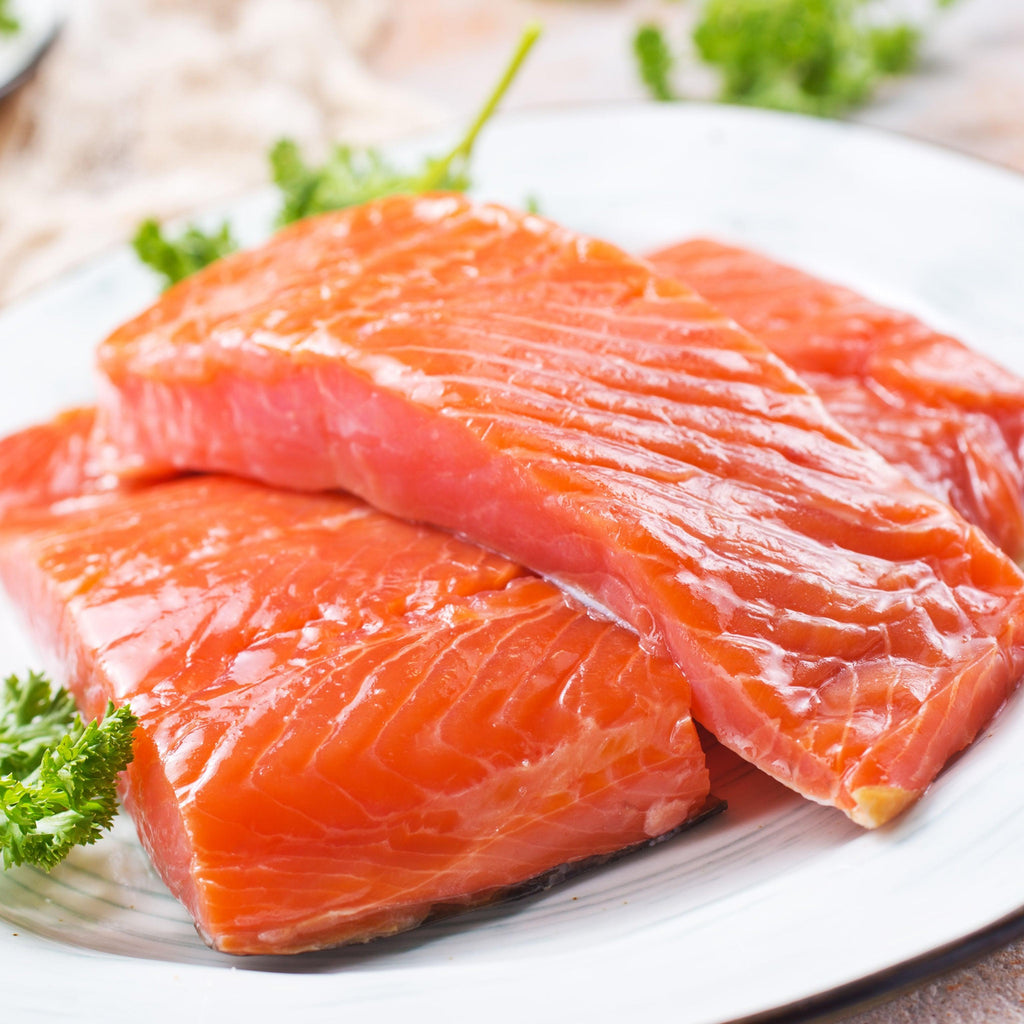 Wild Caught Salmon Pack, 8 Filets for $59