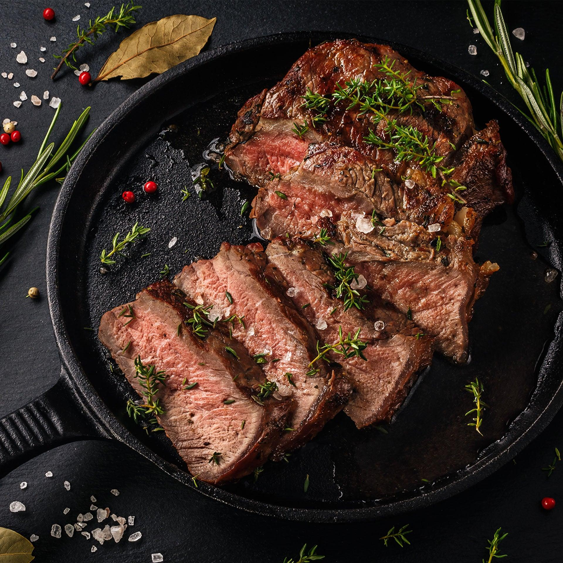 Grass-Fed Beef Top Round Steak