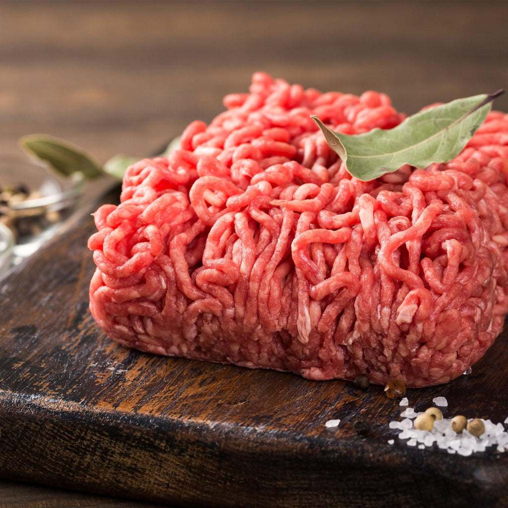 Grass-Fed Ground Beef 80/20 - $199 for 20 pounds Free Shipping