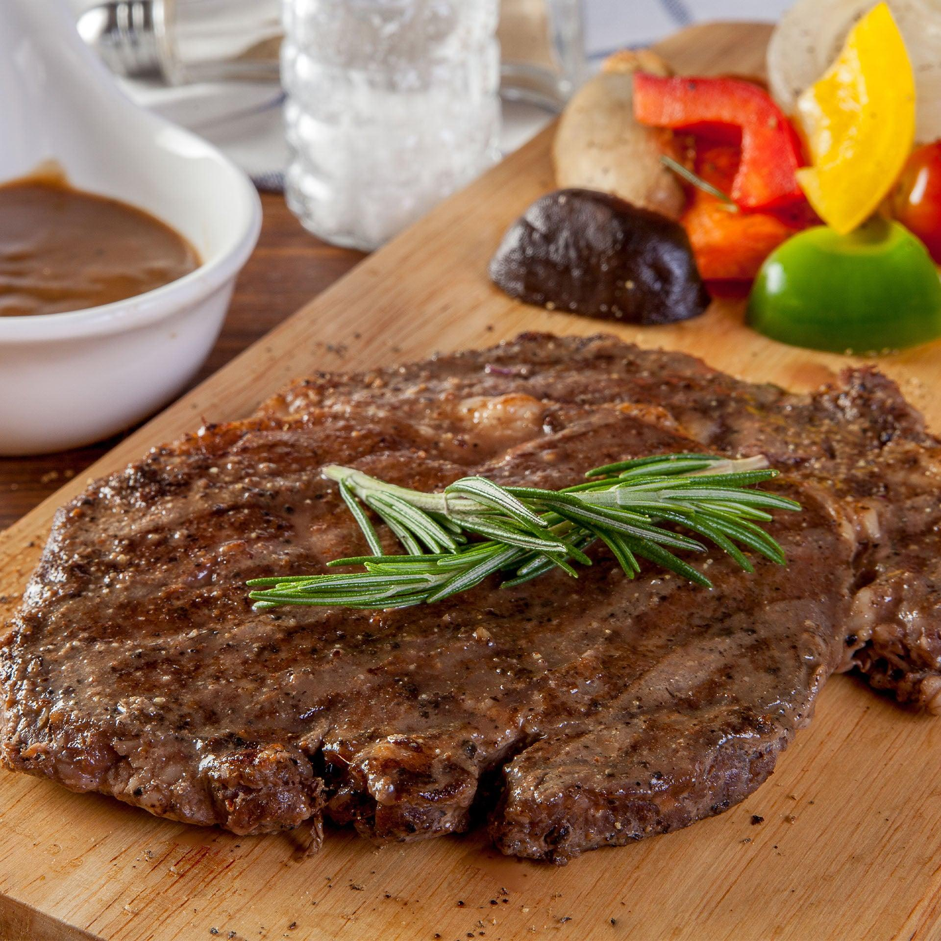 10 Grass-Fed Rib Eye Steaks - $129 FREE Shipping