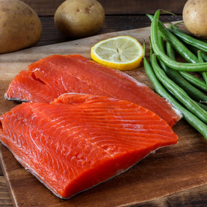 Mega Value Pack Wild Caught Sockeye Salmon - 50 pounds for $899
