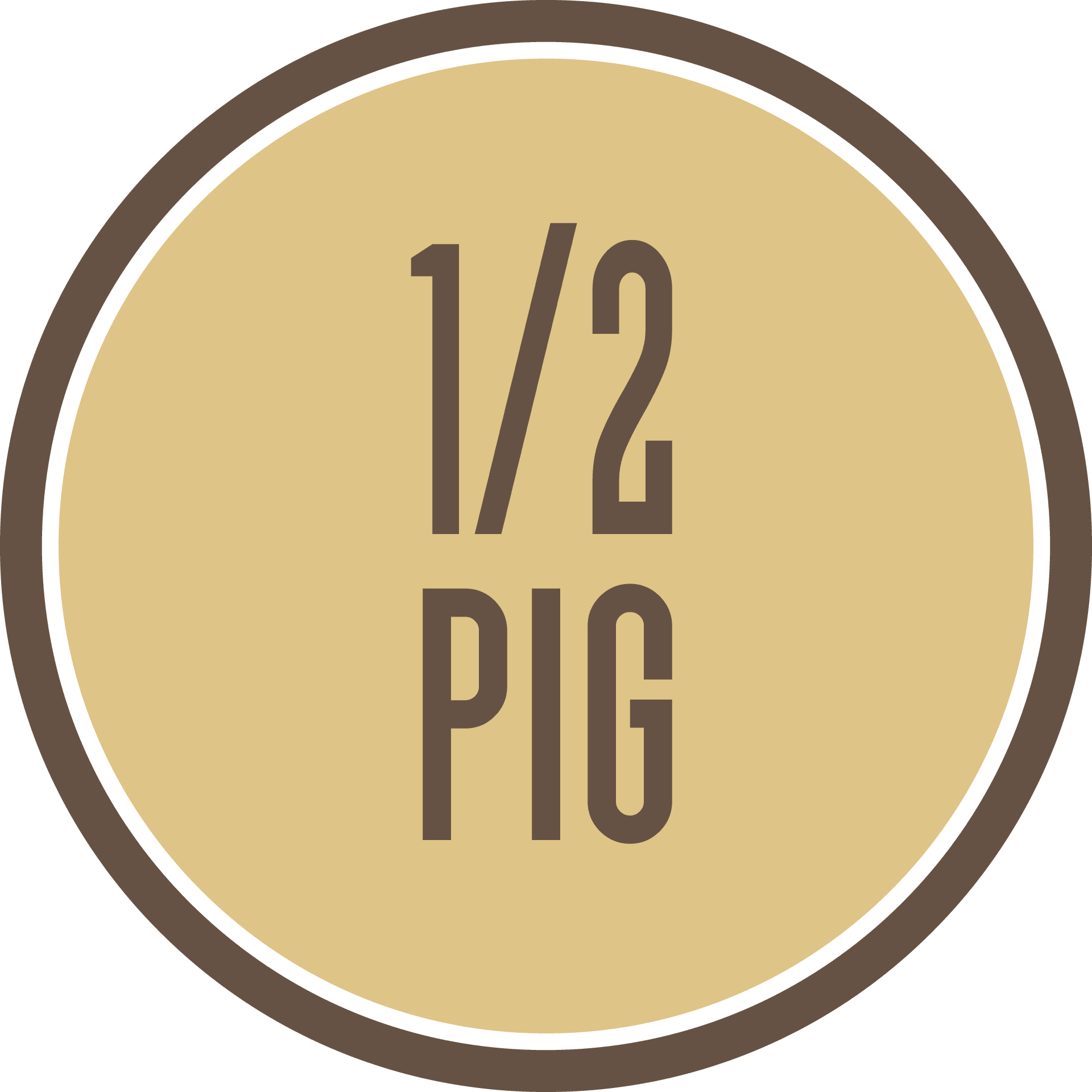Half Pastured Heritage Pig - $999 all costs covered including Free Shipping