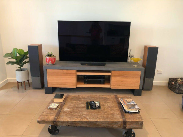 Concrete Entertainment Unit - TV Unit 2000