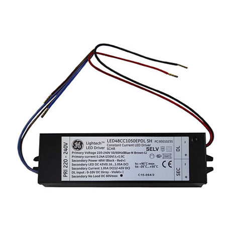 Dimmable LED Driver - 1050mA 48W