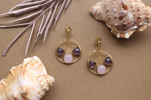 Amore Pink Purple 2.0-Jewels-Kairos Trinkets