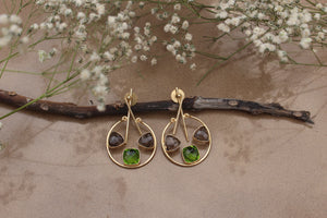 Amore Smoky Green (2.0)-Jewels-Kairos Trinkets