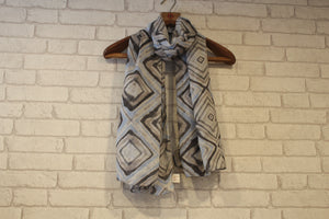 Diamond Tiles Scarf-Scarves-Kairos Trinkets