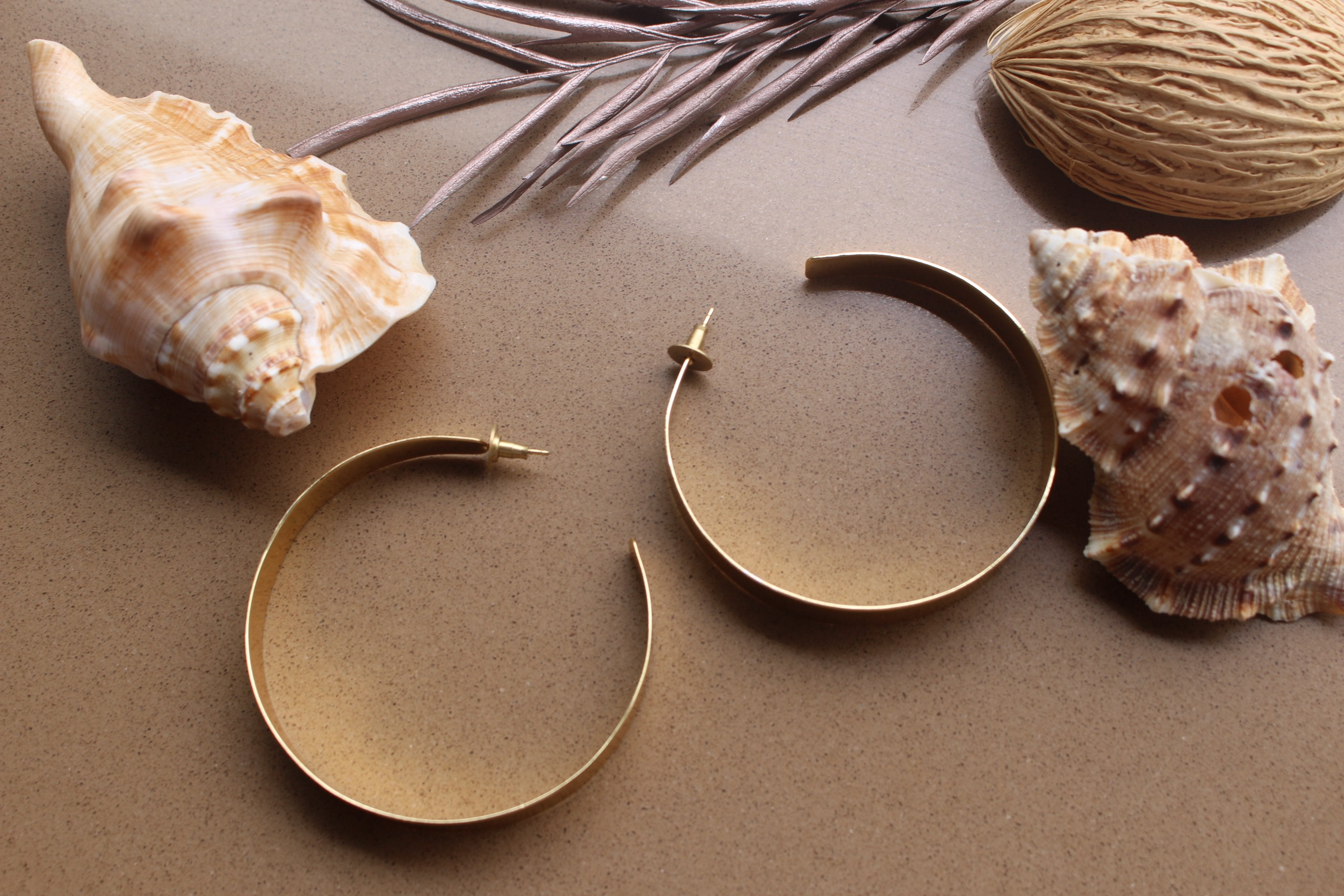 Midas Hoops-Jewels-Kairos Trinkets