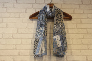 Patch Up Scarf-Scarves-Kairos Trinkets