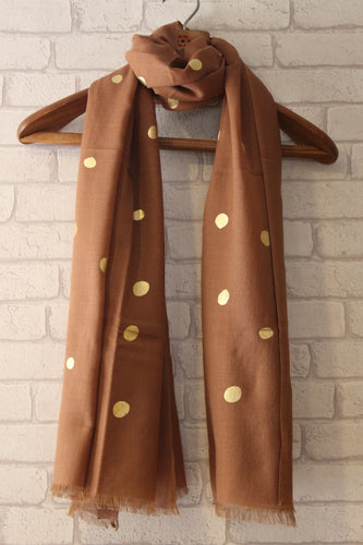 Polka Brown Gold