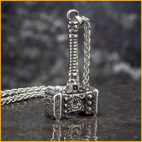 Mjolnor or Thor Hammer Necklace