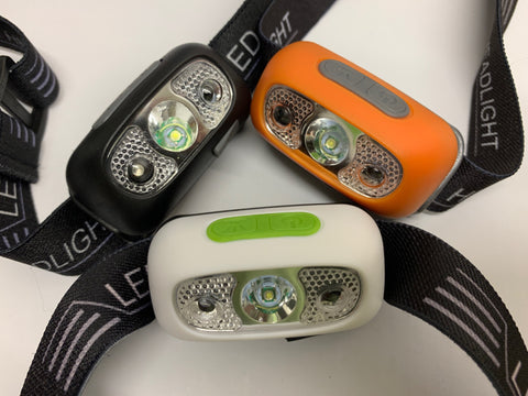 Headtorch - Rechargeable and with Sensor  **NEW**