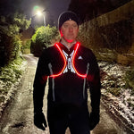360 degree LED Spider Vest - Rechargeable