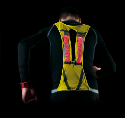 Vest Reflective with LED Lights