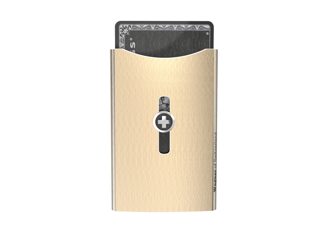 SWISSWALLET ICE, champagne