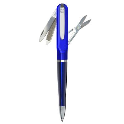 SWISS PEN, original Victorinox Tool, lacquered blue
