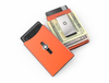 SWISS WALLET ORIGINAL, Cardholder Money clip, orange