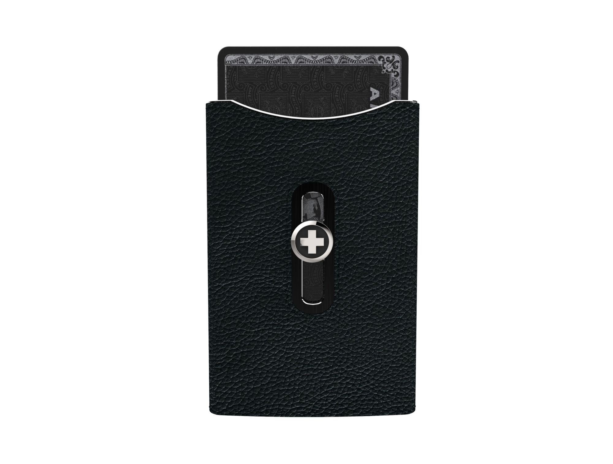 SWISSWALLET SKIN, black on black