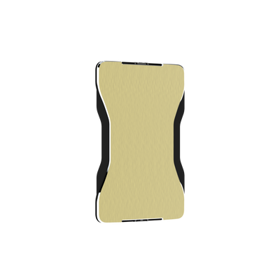 SWISS WALLET SPACE, Cardholder with Elastic, champagne