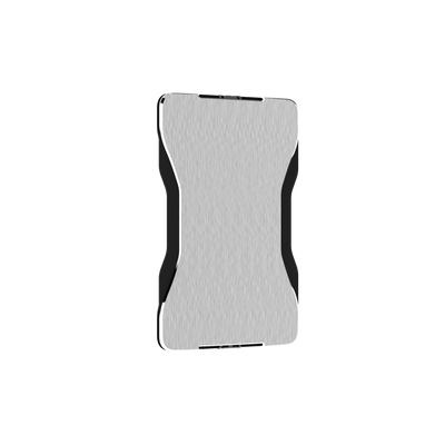 SWISS WALLET SPACE, Cardholder with Elastic, silver