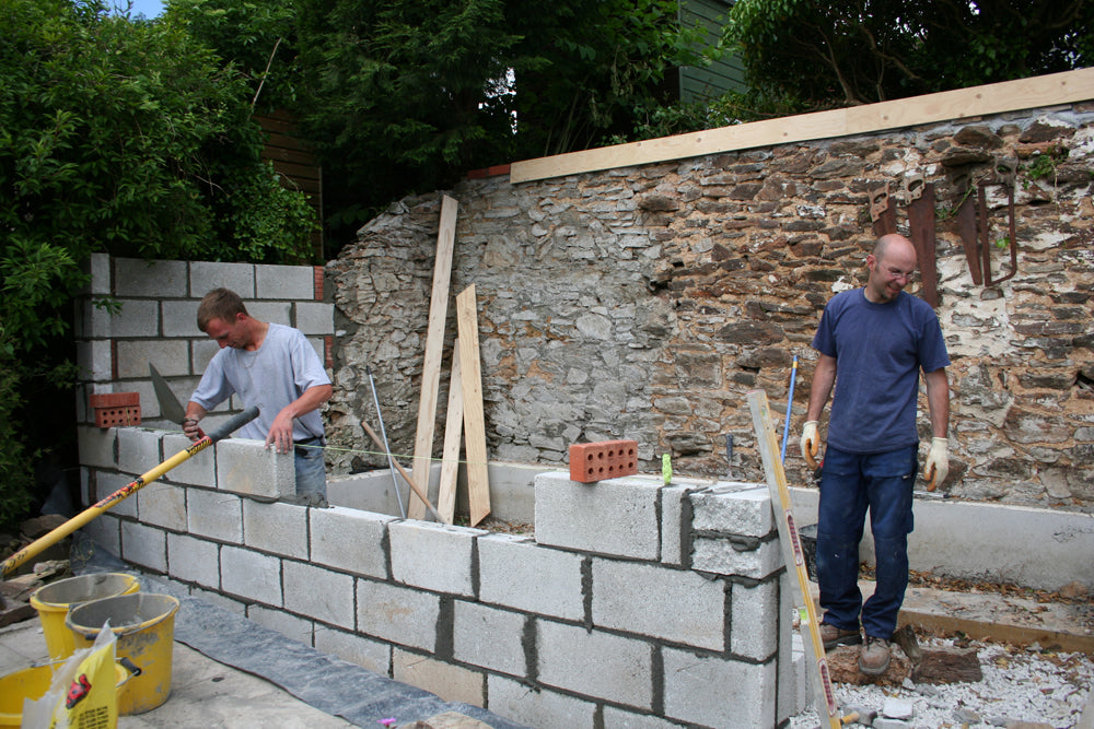 Building the walls