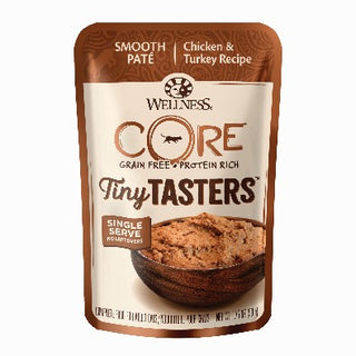 Wellness ® CORE ® Tiny Tasters™ Chicken & Turkey Wet Cat Food