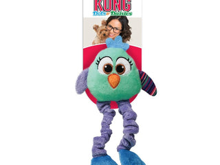 KONG ® Dots & Daisies Owl Dog Toy