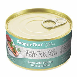 Snappy Tom® Lites Tuna with Salmon Wet Cat Food
