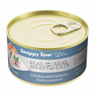 Snappy Tom® Lites Chicken with Salmon Wet Cat Food