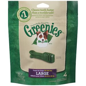 Greenies Large 6oz
