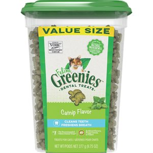 Greenies Feline Catnip Complete Dental Treat 9.75oz